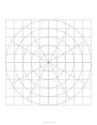 Circle square hybrid grid paper
