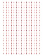 Lines and dots grid red