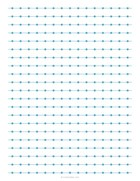 Lines and dots grid blue