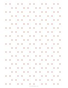 Hexagonal dotted grid