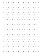 Isometric dotted grid
